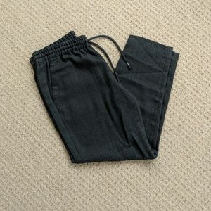 NWOT Express Small Herringbone Pattern Ankle Pants